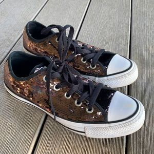 Converse all star sequin sneaker shoes
